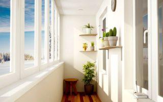 Услуга остекления балконов под ключ в Запорожье